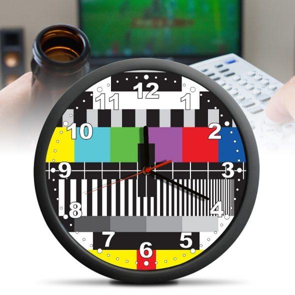 TV Testbild Klocka