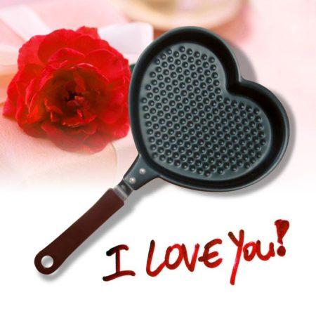 Hjärtformad stekpanna 16 cm