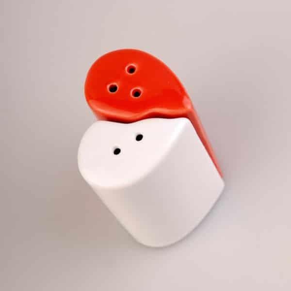 Hjärtformad Salt & Peppar