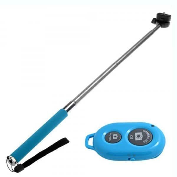 Selfie Stick Med Bluetooth