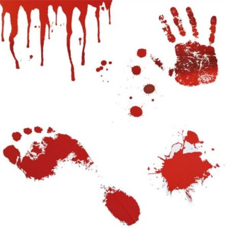 Blodbad Klistermärken