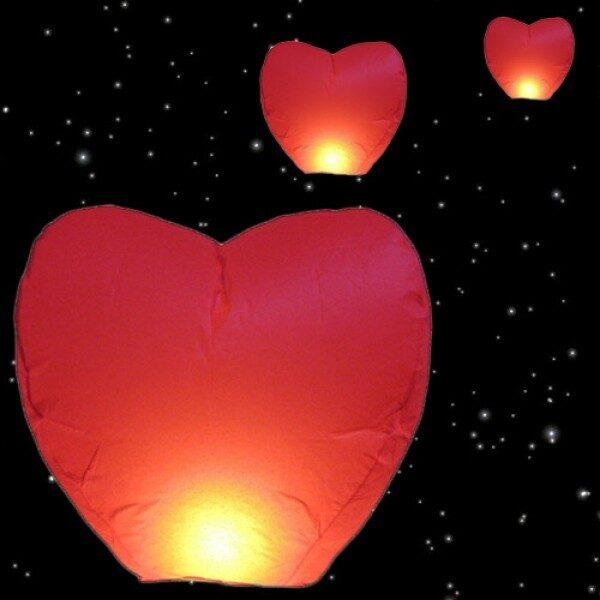 Hjärtformad Lanterna