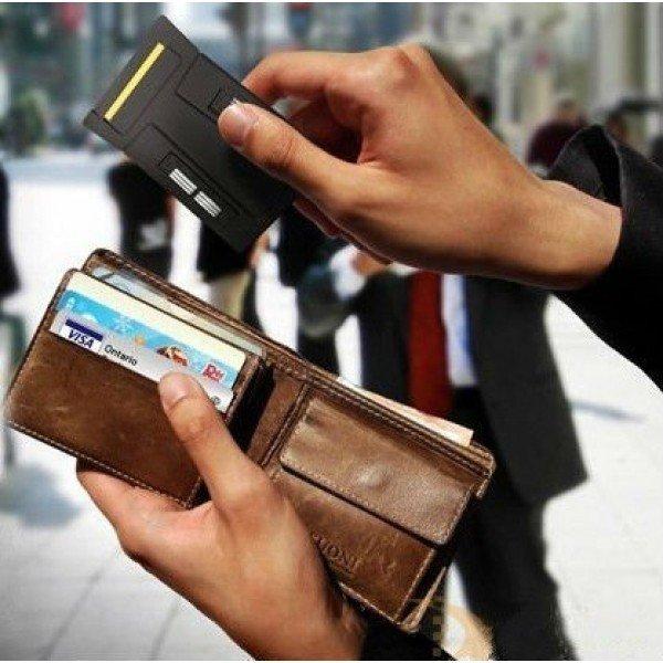 Portabel Kreditkorts Rakhyvel