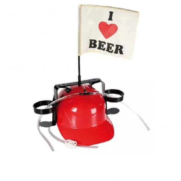 Ölhjälm I Love Beer