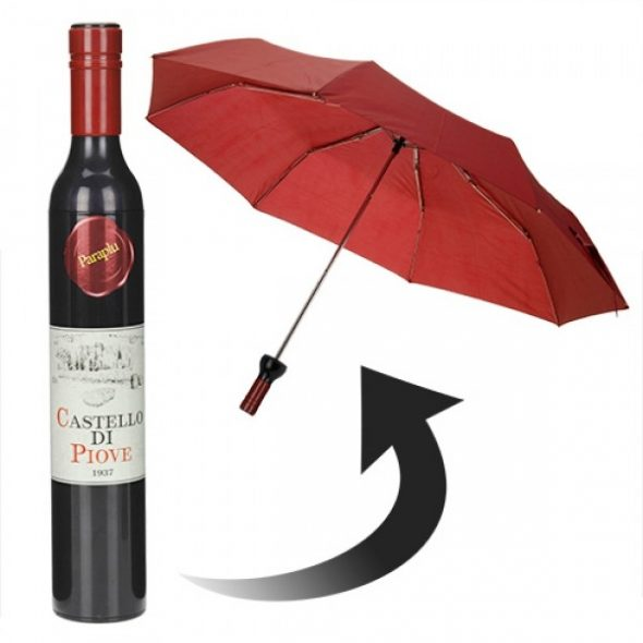 Paraply Vinflaska