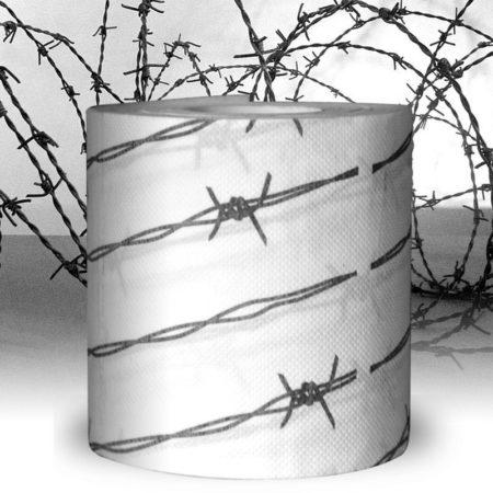 Toalettpapper Taggtråd