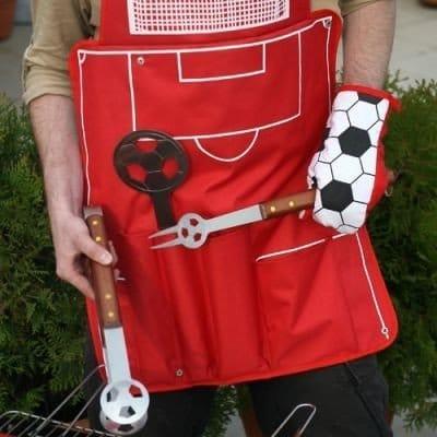 Grillförkläde Fotboll