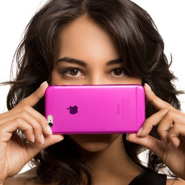 Caseual Flexo Slim Skal Till iPhone 6 Rosa