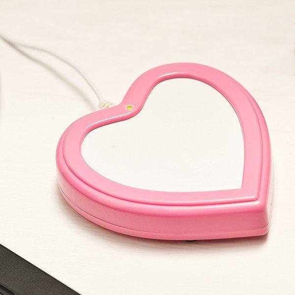 Hjärtformad USB koppvärmare