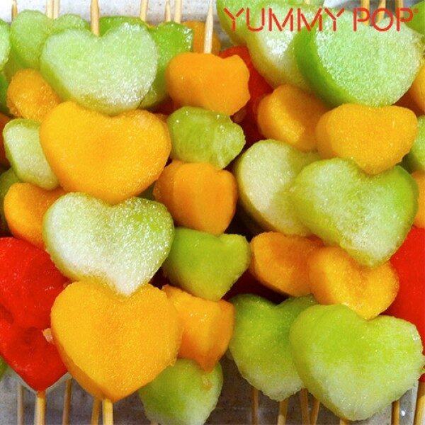 Yummy Pop Fruktfigurer