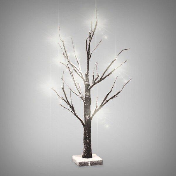 LED Träd Med Snö