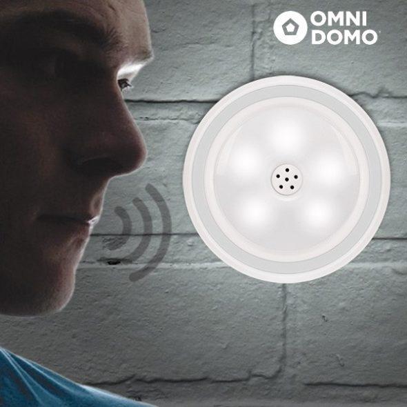 Spotlight Med Röstsensor