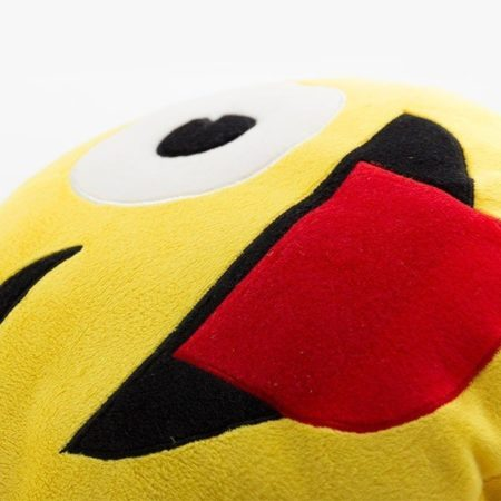 Emoji Blinkning Kudde