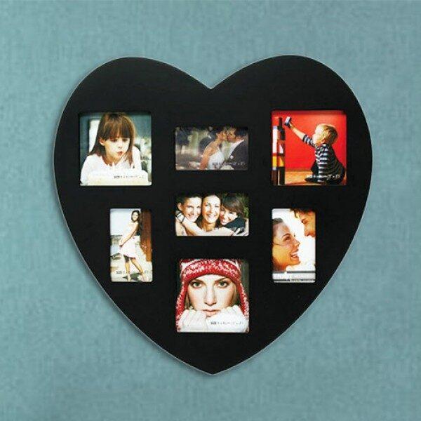 Hjärtformad Fotoram