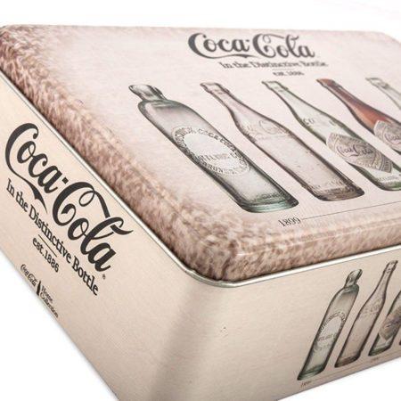 Coca-Cola Retro Metall Låda