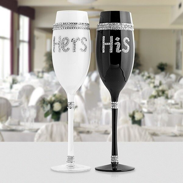His & Hers Champagneglas