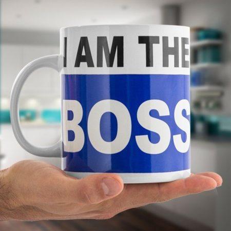 I am the Boss Mugg