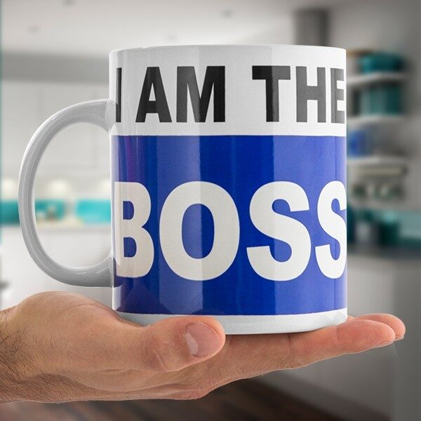 I am the Boss Mugg