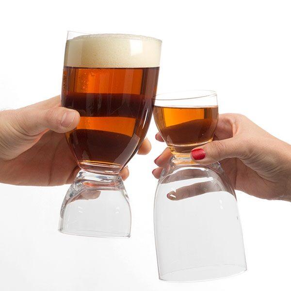 Ölglas Med Shot
