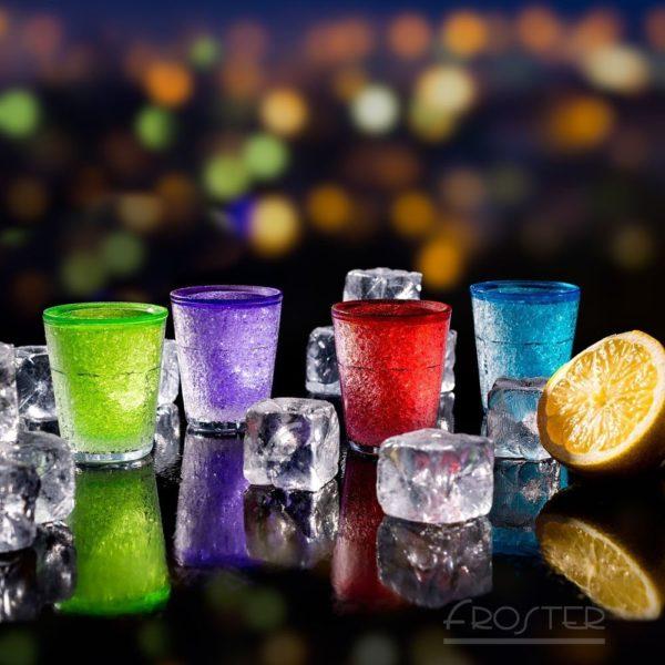 Froster Kylda Shotglas I Färg