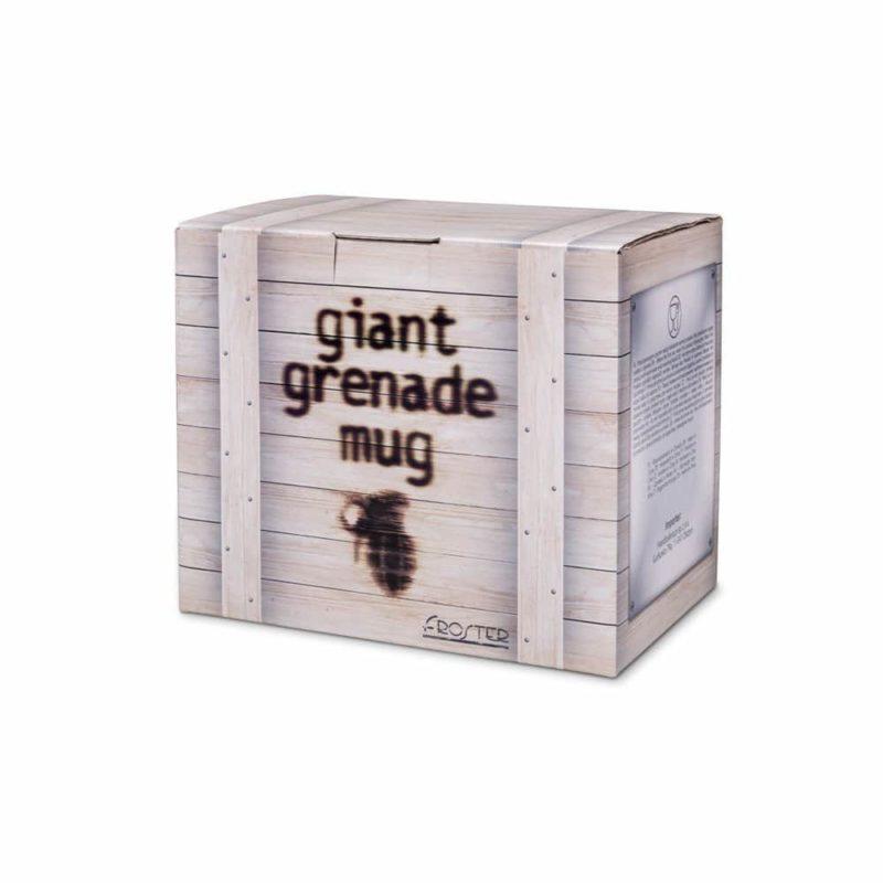 Gigantisk Granatmugg