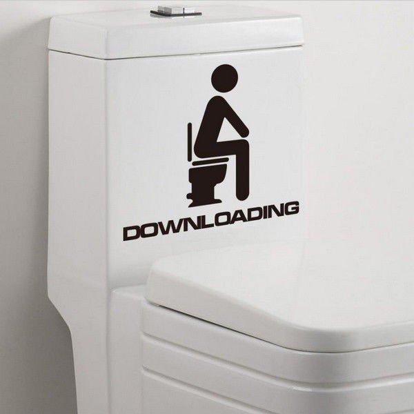 Väggdekor Till Toaletten