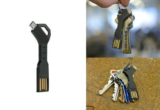 Nyckelring USB laddare
