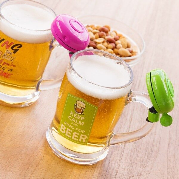 Ölglas Med Ringklocka