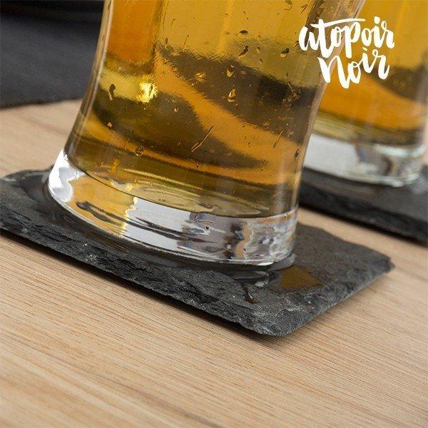 Drinkunderlägg i Skiffer