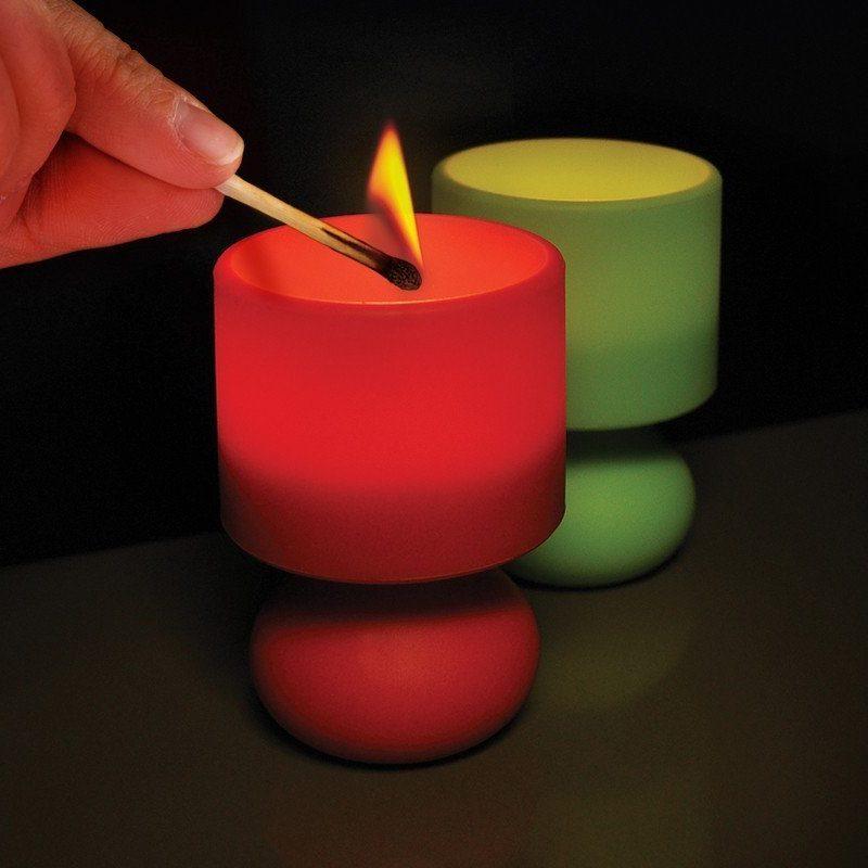 Retro Värmejus Lampa Röd