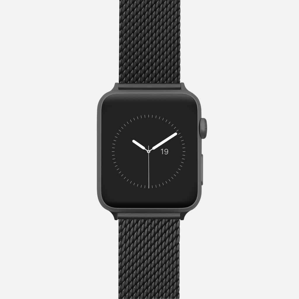 Apple Watch Armband Rostfritt Stålnät thumbnail