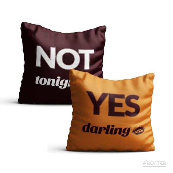 Kuddfodral Yes/No