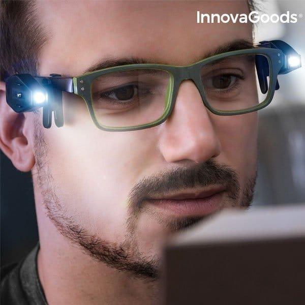 LED Lampa Till Glasögon | Fungadgets för alla