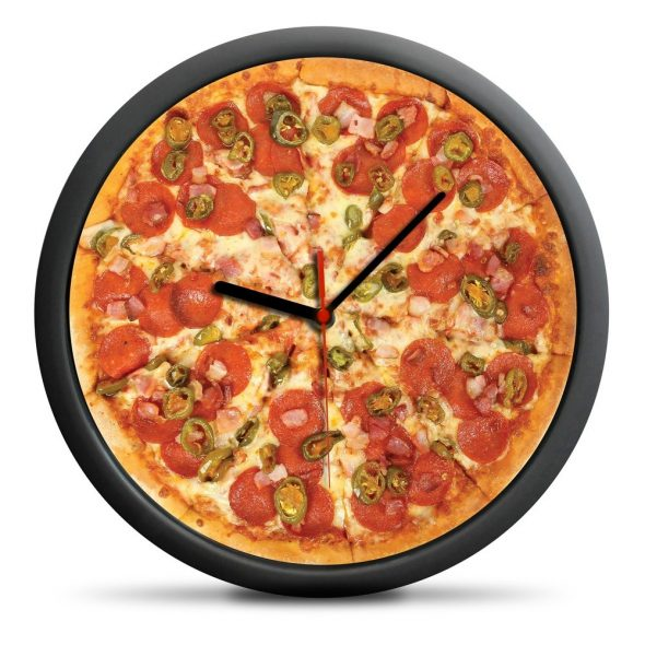 Pizza Klocka