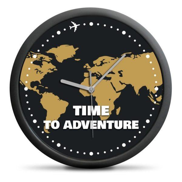 Världskarta Klocka