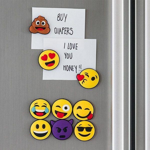 Kylskåpsmagneter Emoji