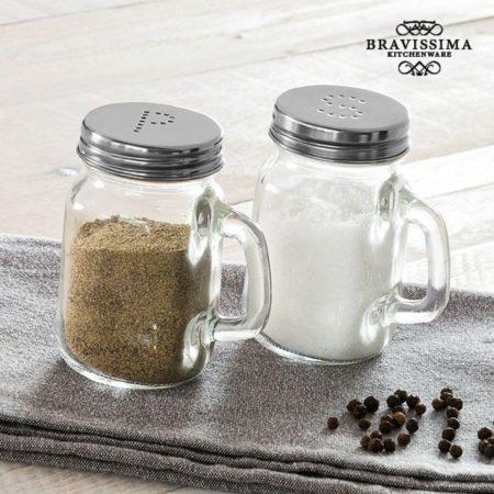 Retro Mugg Salt & Pepparkar