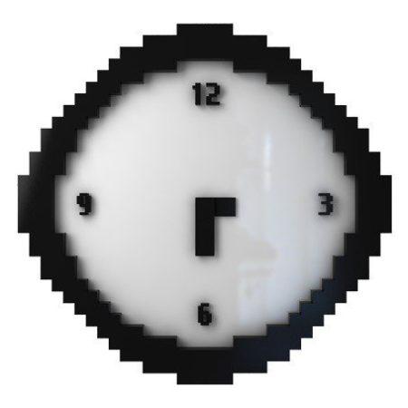 Pixel klockan