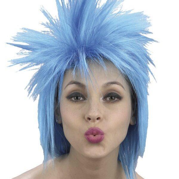 Punk Peruk Blå