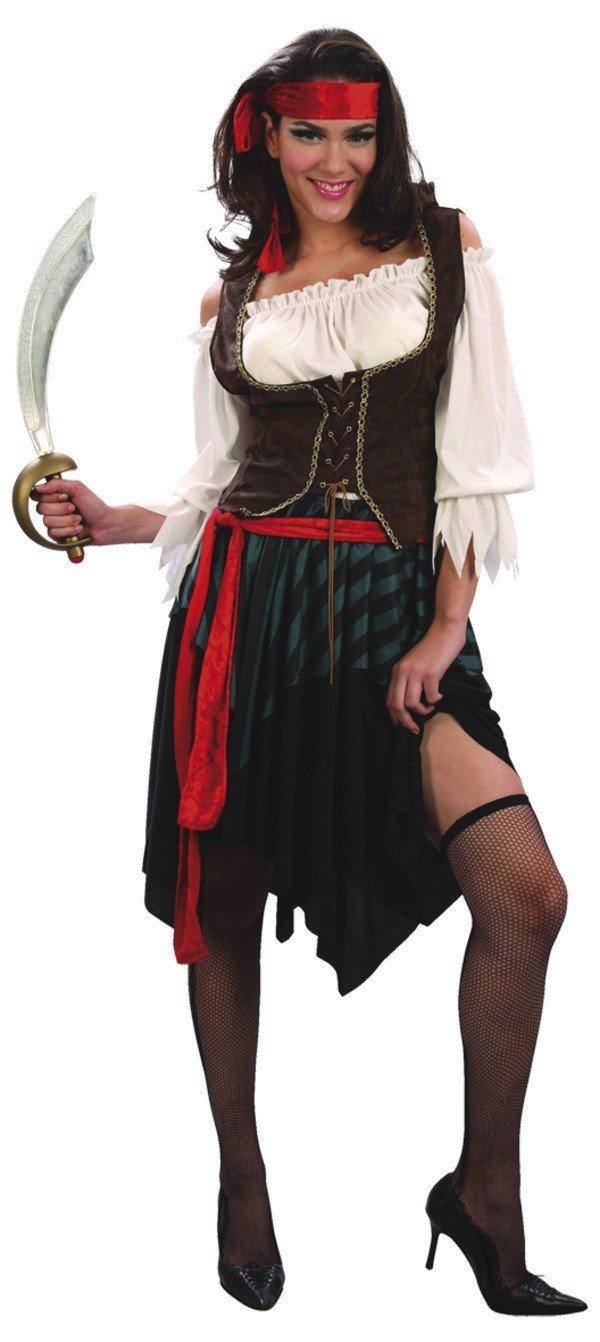 Piratkvinna Maskeraddräkt thumbnail