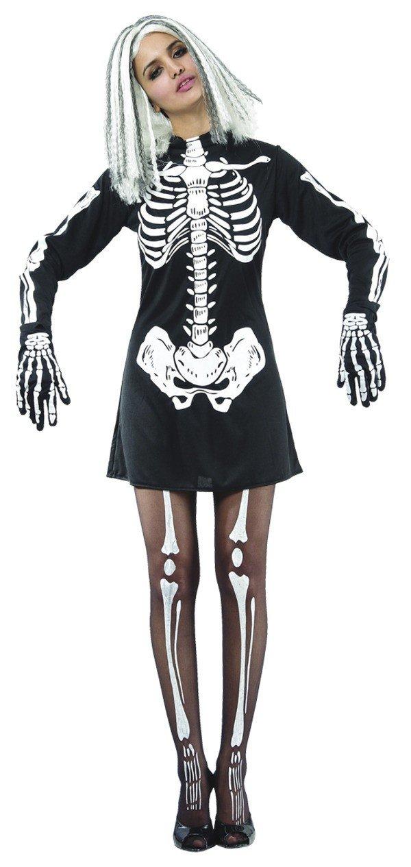 Skelettklänning Maskeraddräkt thumbnail