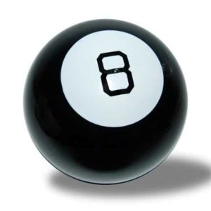 Studsande Magic 8 Ball
