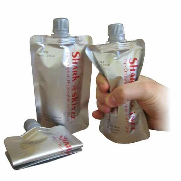 Shark Skinz Flaskor