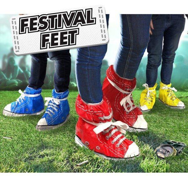 Festival Fötter Röd