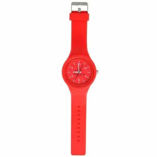 Bakåtgående Armbandsur Röd