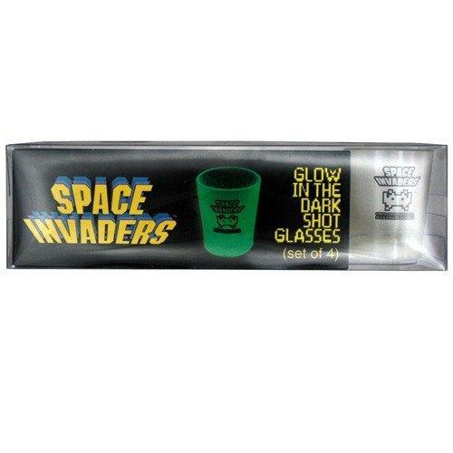 Space Invaders Självlysande Shotglas