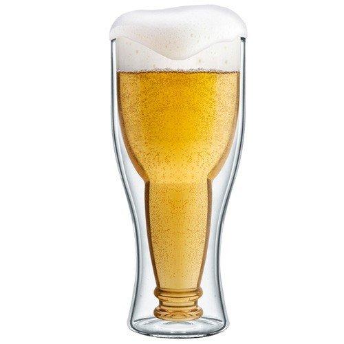 Dubbelsidigt Ölglas Upp Och Ner
