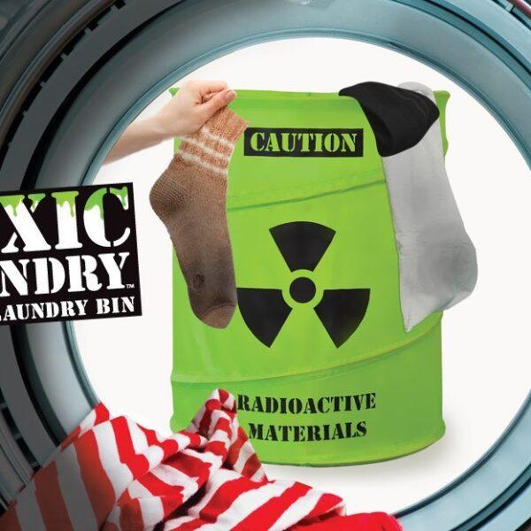 Tvättkorg Giftigt Avfall