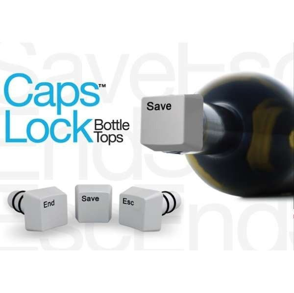 Caps Lock Flaskpropp