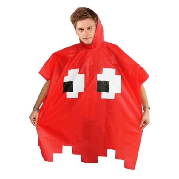 Retro Arcade Poncho Röd